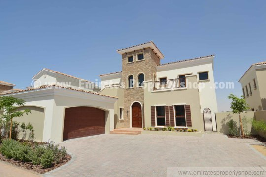 5 bedroom Valencia villa in Jumeirah Golf Estates for sale