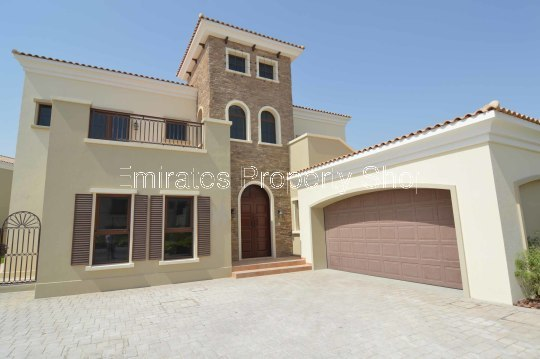 5 Bedroom Jumeirah Golf Estates Villa With Full Golf Course View