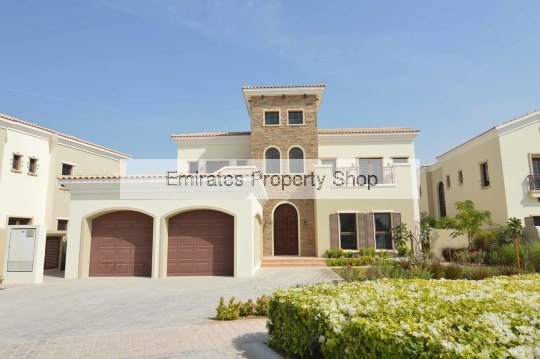 5 bedroom plus study plus very large basement villa for rent in Jumeirah Golf Estates
