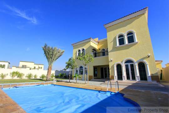Jumeirah Park Huge Plot with Pool, 3 Bed Legacy Small Villa For Sale
