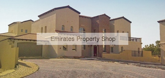 6 bedroom distressed villa for sale in Jumeirah Golf Estates