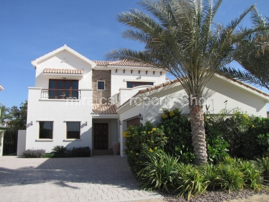 Ex Lime Tree Valley show villa for sale at Jumeirah Golf Estates