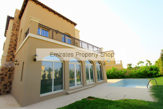 5 bedroom high quality family villa for rent in Jumeirah Golf Estates