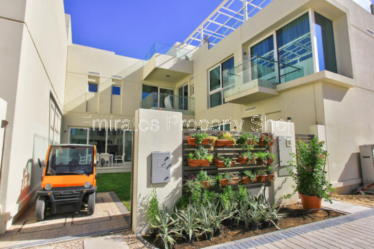 Sustainable city off plan 4 bedroom villa townhouse
