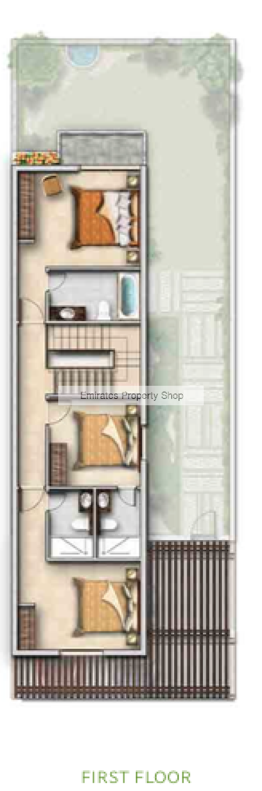 3 Bedroom Villa For Sale In Akoya Oxygen Dubai